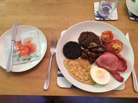 Ardrishaig, UK: It tastes even better than it looks!