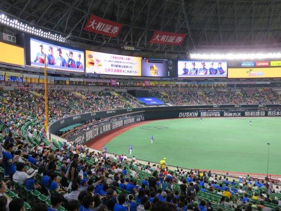 Fukuoka Yahuoku! Dome: 大空間