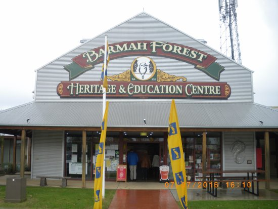 Barmah Forest Heritage and Education Centre: nice front entry