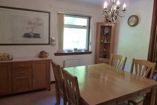 Ardrishaig, UK: Kilfinan Dining Room