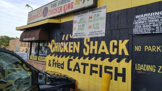 Homewood, IL: Harold's Chicken Shack