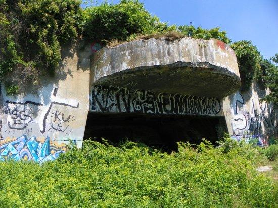 Peaks Island, ME: Battery Steele
