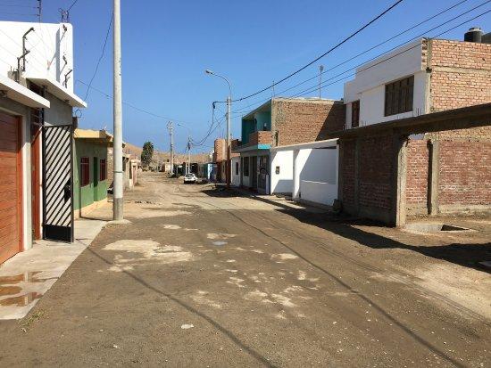 Puerto Supe, Περού: Fotos del pueblo la playa y la casa que por el hermoso lugar hemos construido