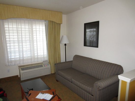 Atherton Park Inn & Suites Redwood City: Sofa