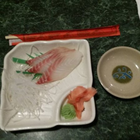 Flowery Branch, GA: My husband had the red tilapia sashimi on one of our visits - we've loved everything we've tried