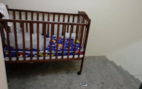 Johor Bahru District, Malasia: Child Bed or Recycle Bin
