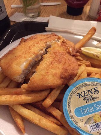 Mashpee, MA: fish and chips