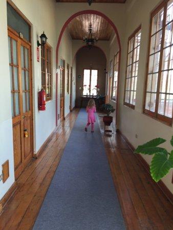 Don Bosco Hotel: Our hallway