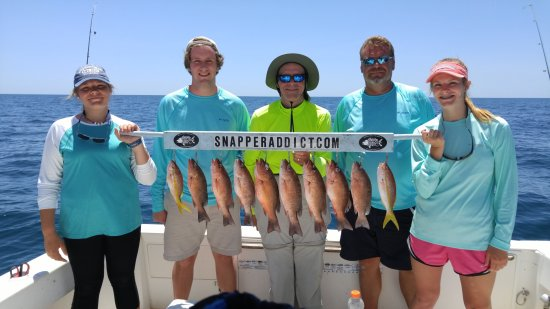 Snapper Addict Fishing Charter