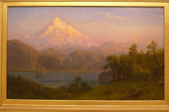 Portland Art Museum: Albert Bierstadt. Mt Hood