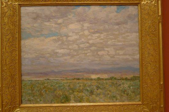 Portland Art Museum: Childe Hassam. On the Snake River.