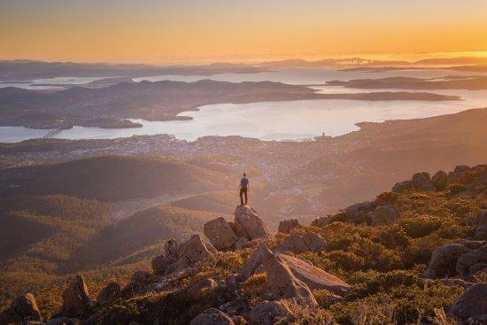 Tasmania, Australia: Mt Wellington kunanyi