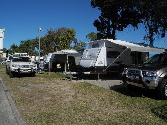 Bongaree, Australia: Grounds of the Caravan Park