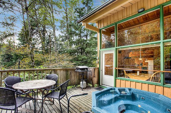 Deep forest cabins at mt rainier prices resort for Mount rainier lodging cabins