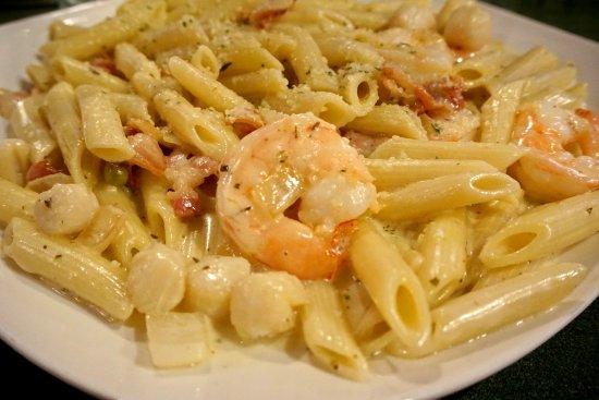 Perry, فلوريدا: Seafood Carbonara