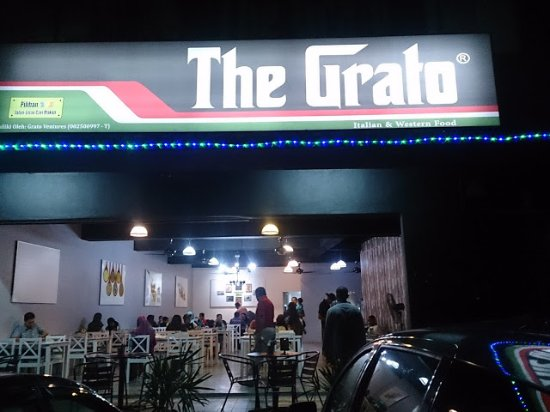 Kajang, Malasia: entrance of The Grato