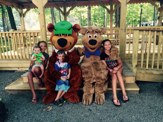 Harrisville, เพนซิลเวเนีย: Yogi Bear's Jellystone Park at Kozy Rest