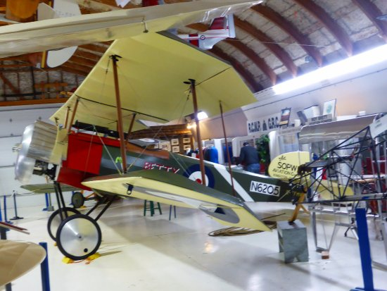 Canadian Museum of Flight: One of the Sopwith pups to feature at Vimy Ridge in 2017