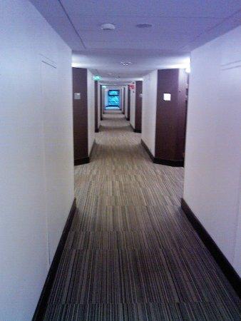 Radisson Blu Hotel, Espoo: Многочисленные коридоры отеля
