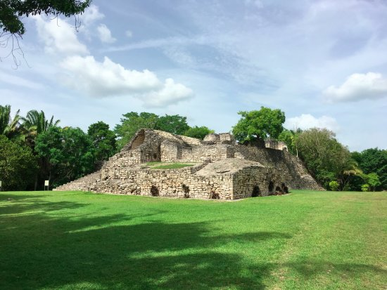 Кинтана-Роо, Мексика: Kohunlich, ruinas