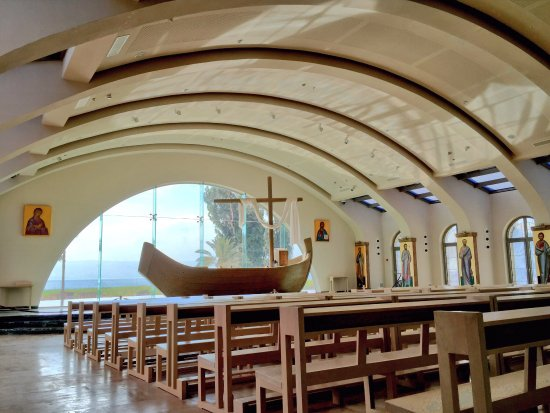 Migdal, Israel: Beautiful Church in Magdala
