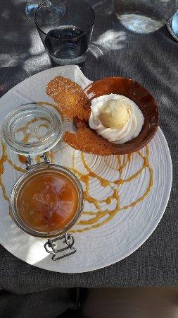 Castelnaudary, Prancis: dessert du jour