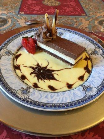 Ancemont, France : delicious dessert