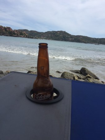 Mariscos Sixtino's : It doesn't get a better view than this!