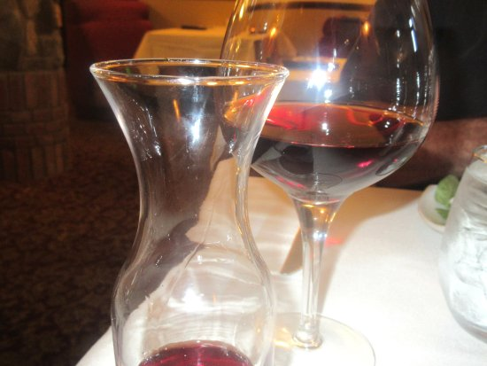 Coppola Syrah Wine, Stanley's Steakhouse, Jackson, CA