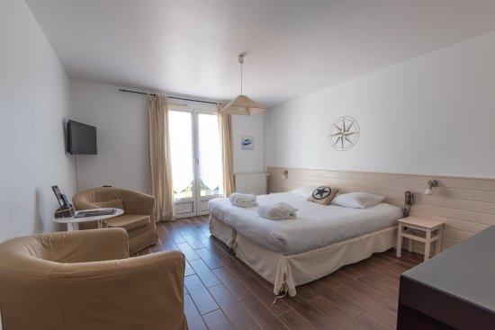 Ancre Marine : Chambre confort terrasse