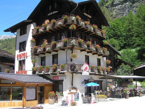 Les Hauderes, Швейцария: Facade Veisivi
