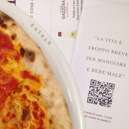 San Damiano d'Asti, Italië: la nostra pizza
