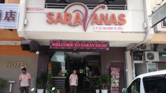 Butterworth, Malásia: outside view of Saravanas Restaurant liked by all races.