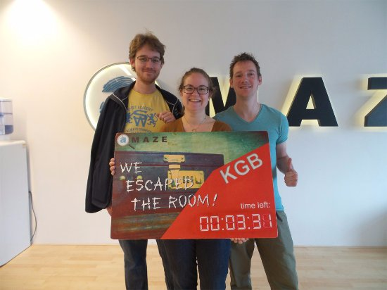 Amaze Escape Events : CLEAR!