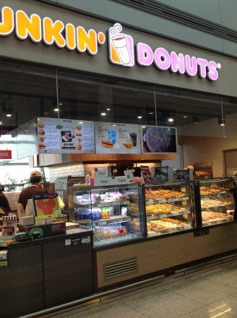 Dunkin Donuts Incheon Airport Store: Incheon Airport DD
