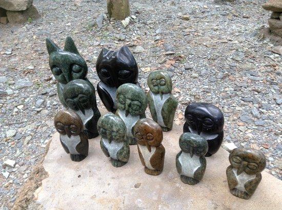 Zimbabve: Sculptures at Tengenenge