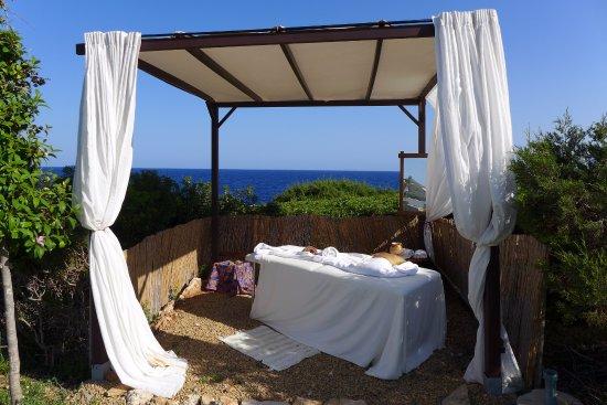 Apartamentos Parque Mar : Massage am Meer