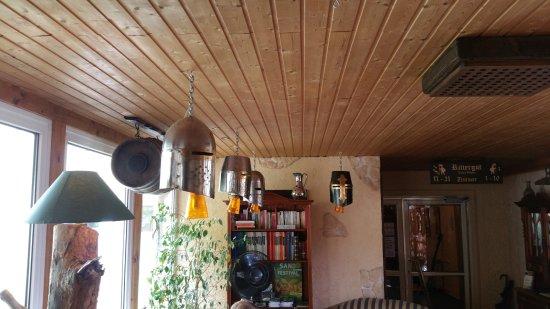 BinzHotel Landhaus Waechter: Im Empfangsbereich an der Rezeption.