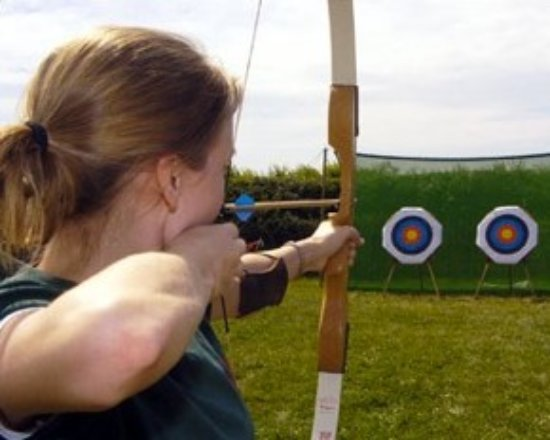 Eversley, UK: Archery, .22 Air Rifle Shooting & Axe Throwing - Age 18 and over