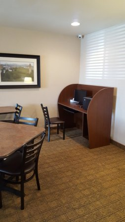 Spokane Valley, Вашингтон: Business Center & Coffee Lounge