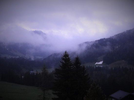Balderschwang, Alemania: Traumaussicht mit besonderer Stimmung am Morgen!