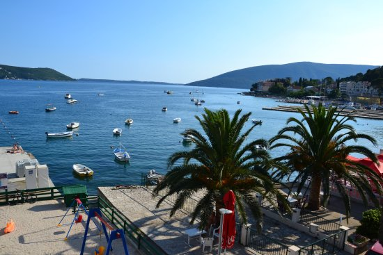 Meljine, Montenegro: View from the room on the second floor