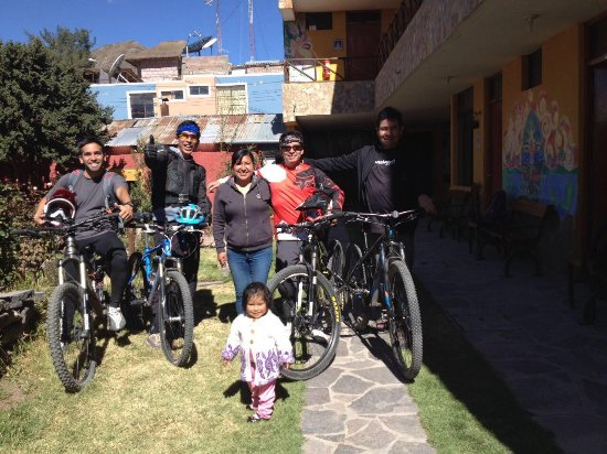 Hostal La Pascana del Inka: Nos sentimos como en casa...