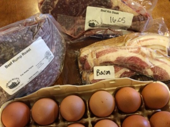 Glenmoore, Pensilvania: Meat and Eggs to buy from our farm.
