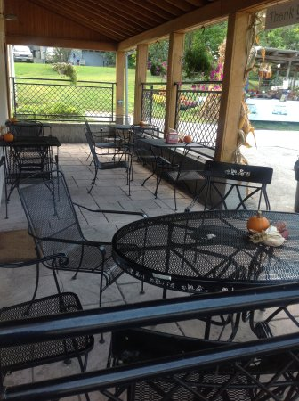Glenmoore, Pensilvania: Outside seating