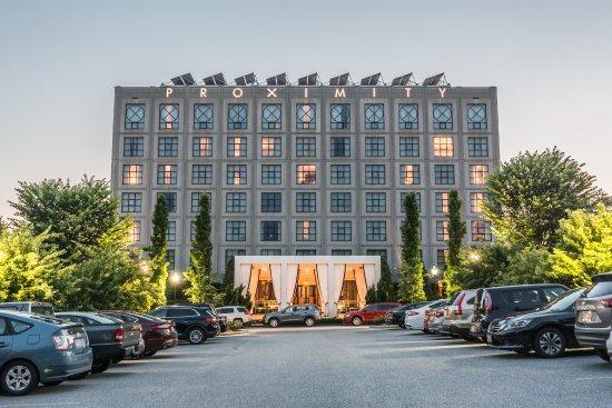 Proximity Hotel Greensboro Nc