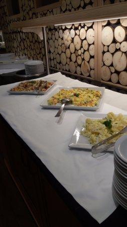 Sporthotel Paradies: eerste voorgerecht in buffetvorm