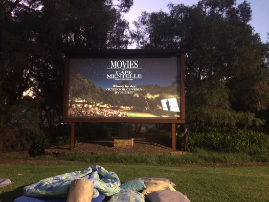 Cape Mentelle Wines: Rug Up With A Blanket And Beanbag At The Outdoor  Cinema At