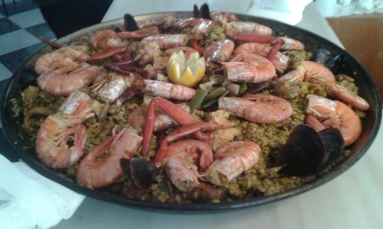 Campanet, Spanien: Paella buenísima!