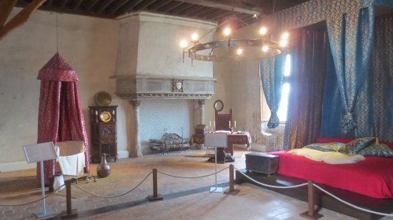 Beaugency, Frankreich: fire place
